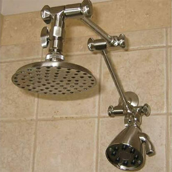 Double Shower Heads | Dual Shower Heads | Free Shipping